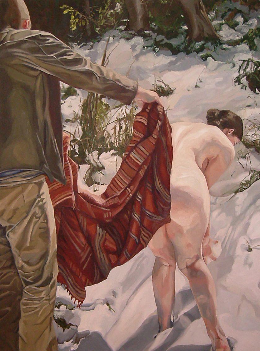 AharonovitchVered_naked_oilCanvas_150x110cm