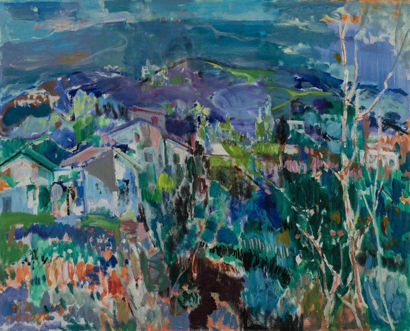 BinderAvraham_Landscape_OilCanvas_81x100cm