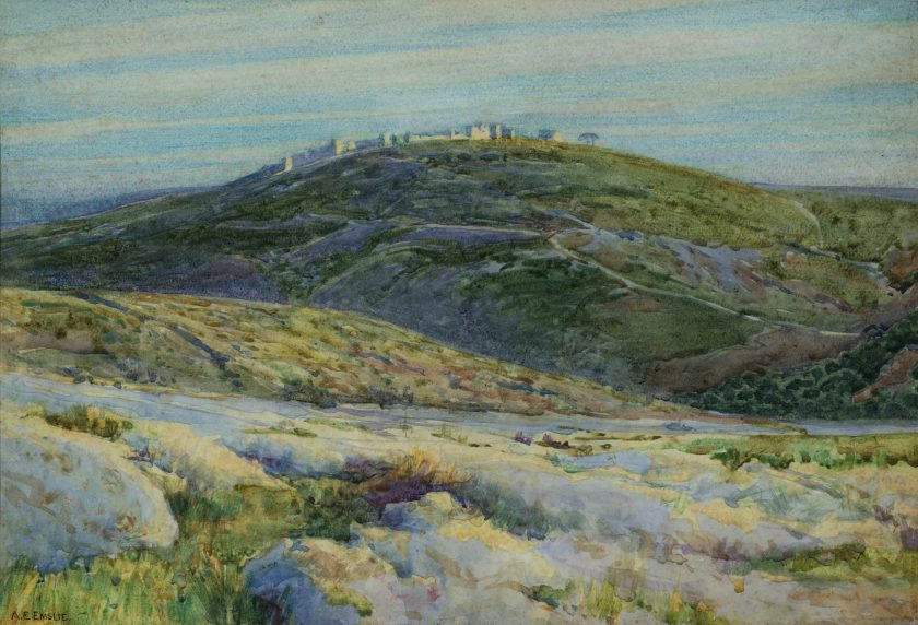 EmslieAlfredEdward_Landscape_Watercolour_25x37
