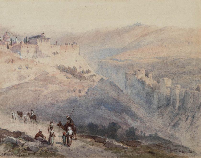 HarperHenryAndrew_Jerusalem_Watercolour_14x17