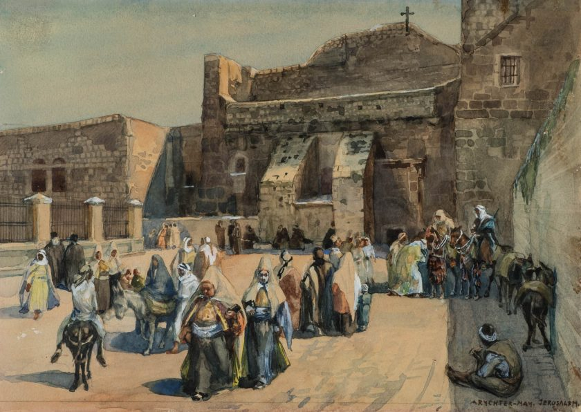 RychterMayAnna_Jerusalem_Watercolour_21x28.5