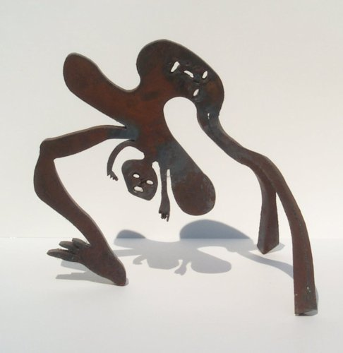 Kadishman Menace Birth Stern Gallery